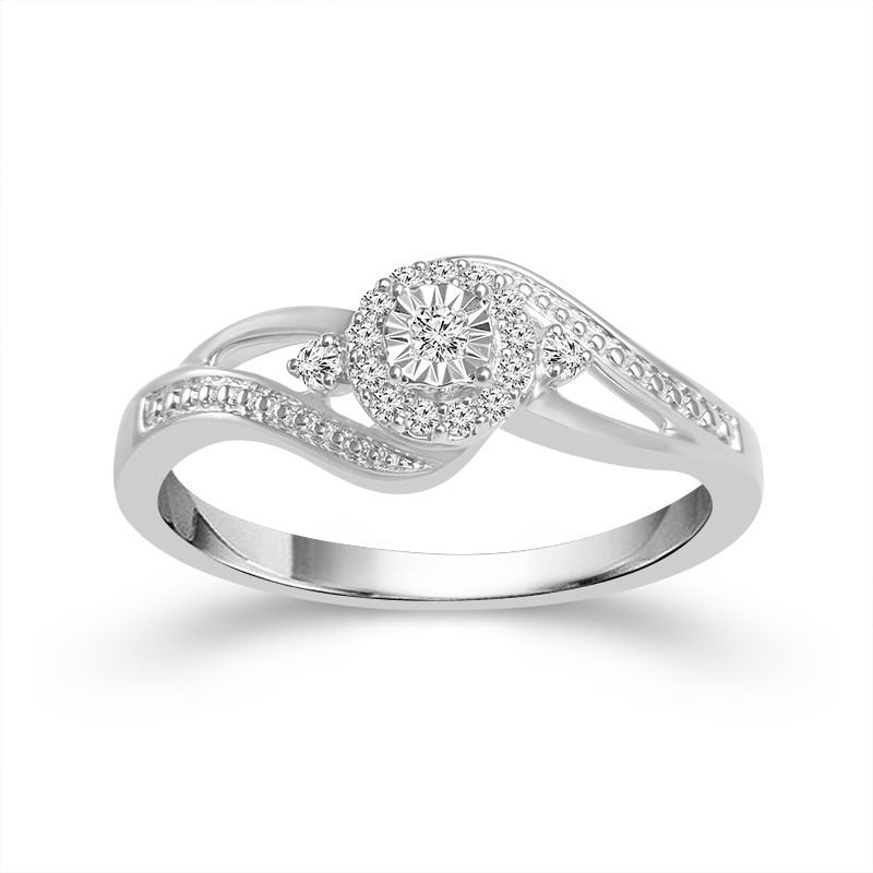 Diamond Engagement Ring by IDD