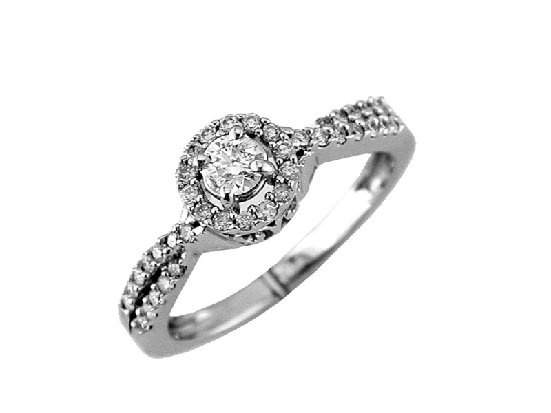 W14 .48TW ENGAGEMENT RING